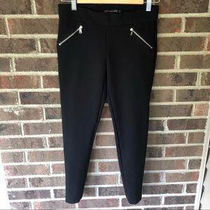 Zara Traffaluc Collection zipper leggings